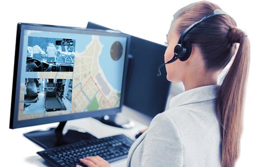 Controllo costante dal centro operativo - Event Surveyor - dispatcher di servizi e tracciamento veicoli
